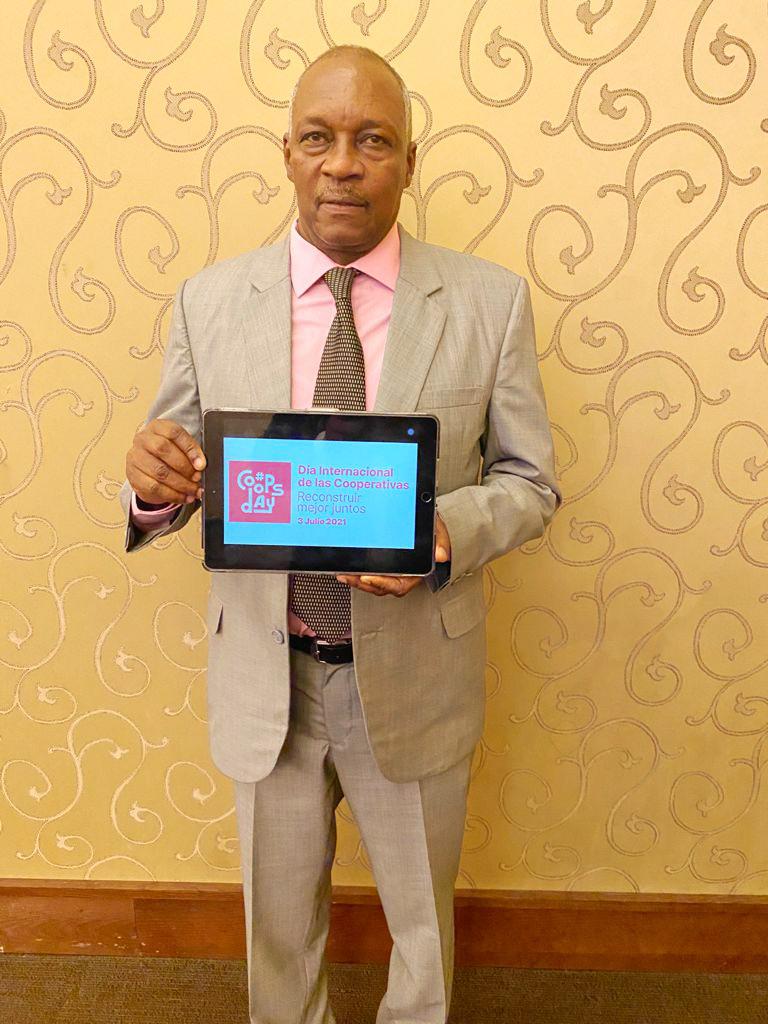 Octavio Bremón, Presidente del Consejo de Administración de la Cooperativa Nacional De Servicios Múltiples De Los Maestros, Inc. (COOPNAMA), Dominican Republic